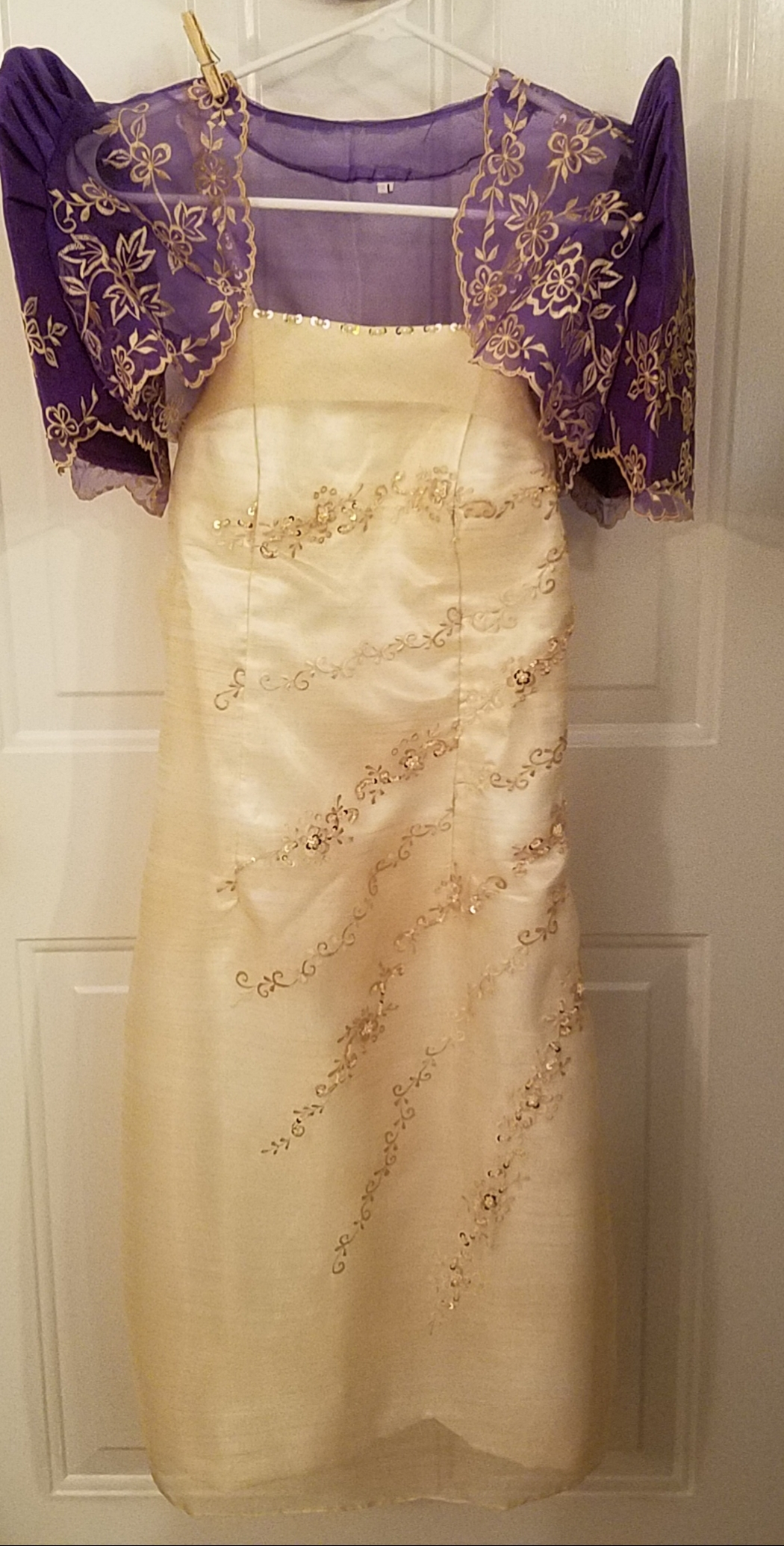 3b0b4d054d7 Filipiniana dress with a bolero – Pinay Boutique